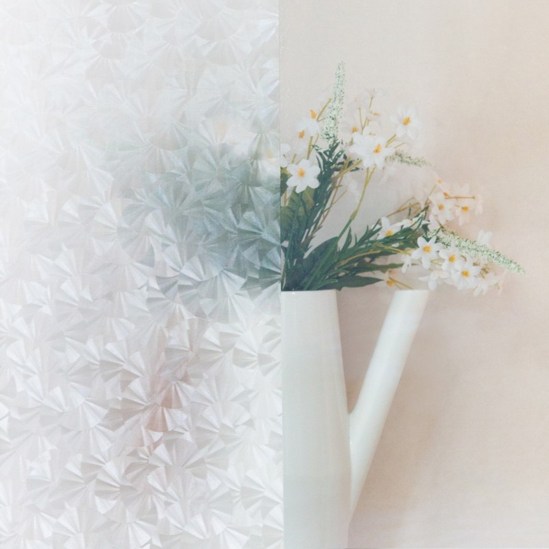 Autocolant d-c-fix transparent flori de gheata Eis 45cmx15m cod 200-2701