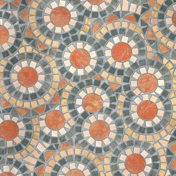 Autocolant d-c-fix Imitatie pietre flori in cercuri Opaco 45cmx15m cod 200-3126