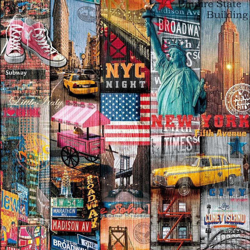 Autocolant d-c-fix Manhattan 45cmx15m cod 200-3234