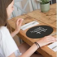 Autocolant d-c-fix Tabla scolara neagra 45cmx2m cu creta inclusa cod 213-0004