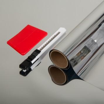 Autocolant d-c-fix Folie  protectie solara autoadeziva cu efect oglinda 67cmx150cm cod 339-8050