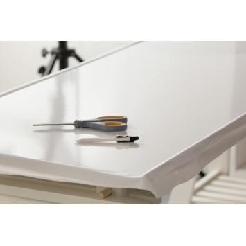 Autocolant d-c-fix Uni alb lucios 45cmx2m cod 346-0011
