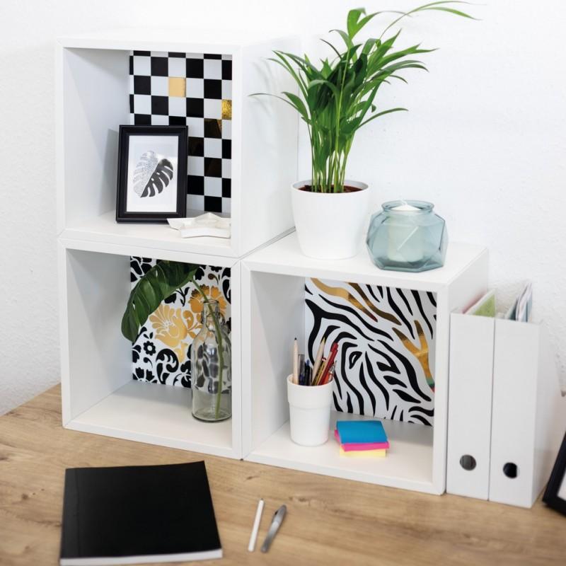 Autocolant d-c-fix Zebra alb negru 45cmx2m cod 346-0237