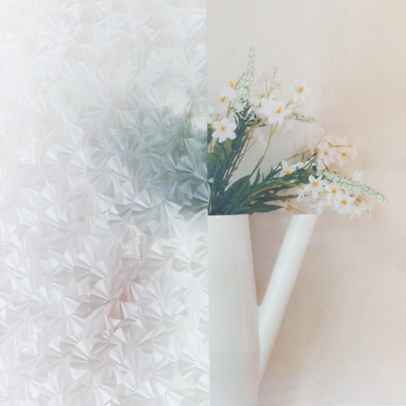 Autocolant d-c-fix transparent  Flori  de gheata Eis 45cmx2m cod 346-0272