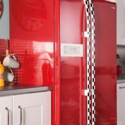 Autocolant d-c-fix Uni Rosu Lucios 67.5cmx2m cod 346-8345