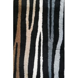 Covoras baie  Kleine Wolke  Ted bej negru gri maro 60x 90cm import Gerrmania cod 34239