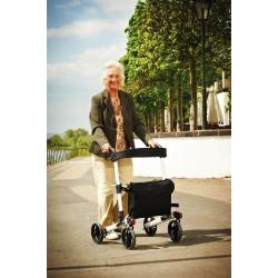 Cadru ajutator pentru mers cu roti pliabil (rolator) exterior Premium Ridder pentru seniori – A0300100 cod 38120