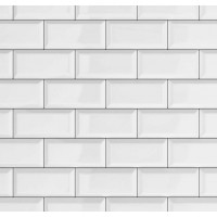 Tapet Ceramics Subway Tile d-c-fix (caramida alba)  67.5cmx20m cod 270-0171