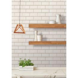 Tapet Ceramics Subway Tile d-c-fix (caramida alba)  67.5cmx4m cod 270-1005