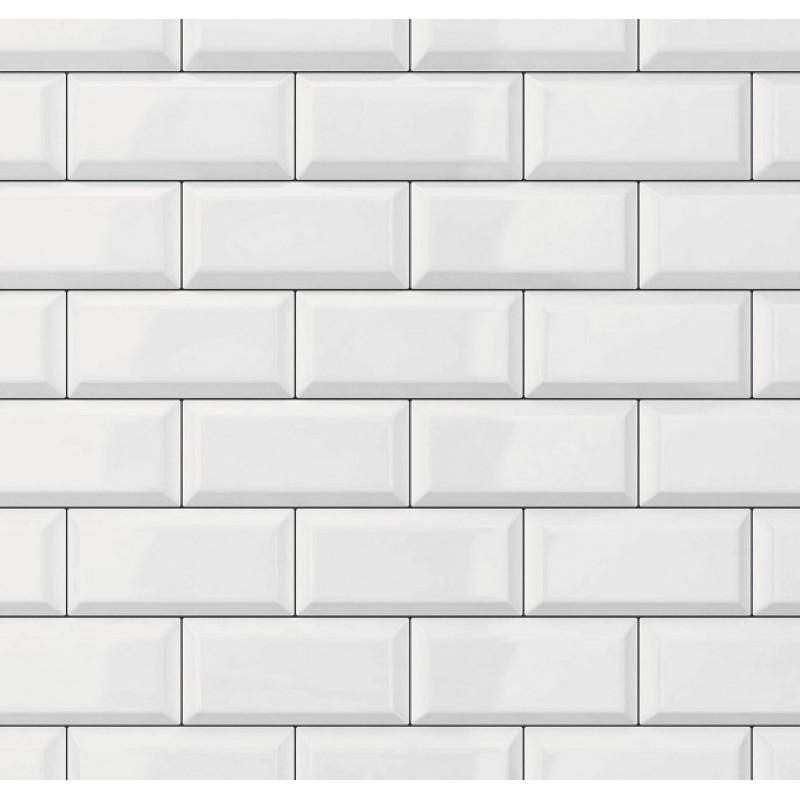 Tapet Ceramics Subway Tile d-c-fix (caramida alba)  67.5cmx20m cod 270-0171