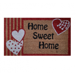 Covoras (Stergator) intrare Cocos Gemitex Home Sweet  Home 40x70cm cod 40030