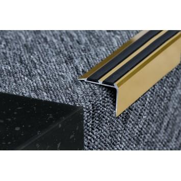Coltar protectie trepte cu banda dubla de cauciuc Auriu (Gold) 2150 (38mmx100cm)- 10 buc cod 42115