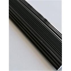 Profil aluminiu drept pentru treapta cu banda de cauciuc Bronz-nuanta spre negru, 2151 (47mmx100cm)- 5 buc cod 42175