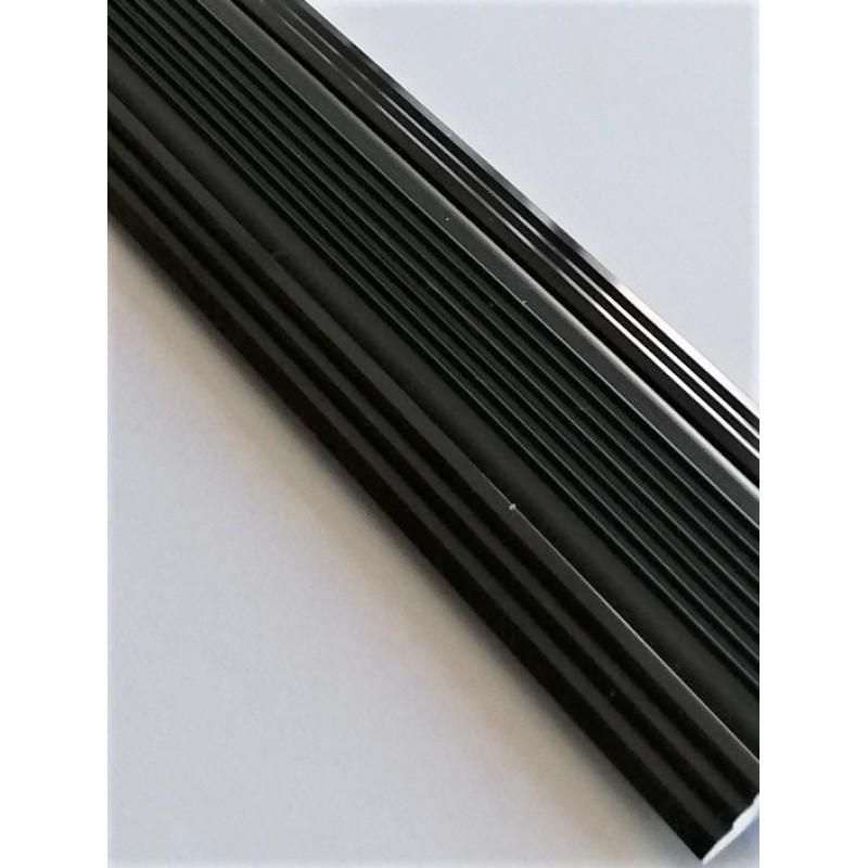 Profil drept pentru treapta cu banda de cauciuc bronz, 2151 (47mmx100cm)- 10 buc cod 42175