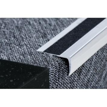 Profil pentru treapta argintiu (silver) 2853 (23x53mm) x300cm- 5 buc cod  42166