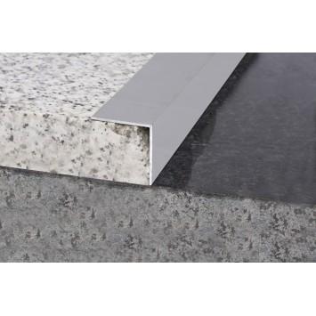 Profil aluminiu coltar treapta argintiu (silver)  3030 (30x30mm) x100cm- 10 buc cod 42156