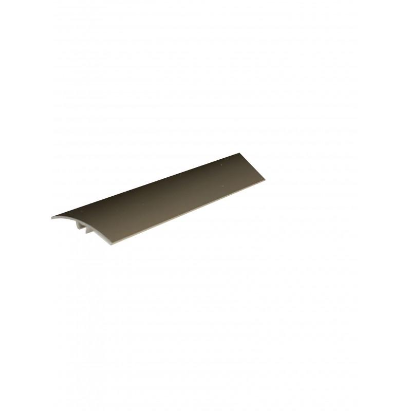 Trecere cu diferenta de nivel din aluminiu Inox Deschis (SM01) 3104 (latime 41mmx270cm) cod 42194