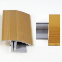 Profil aluminiu cu trecere cu diferenta de nivel Auriu (Gold) 386L (latime 44mmx90cm)- 5 buc cod 42069
