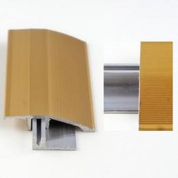 Profil aluminiu cu trecere cu diferenta de nivel Auriu (Gold) 386L (latime 44mmx90cm)- 10 buc cod 42069