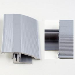 Profil aluminiu de trecere cu diferenta de nivel Argintiu (Gold) 386L (latime 44mmx270cm)- 5 buc  cod 42075