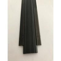 Profil drept pentru treapta cu banda de cauciuc Bronz- nuanta spre negru, 2151 (47mmx300cm)- 5 buc cod 42176