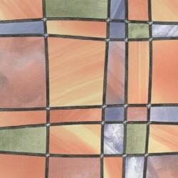 Autocolant Gekkofix  Vitraliu Semitransparent Barcelona Multicolored 67.5cmx15m cod 11805