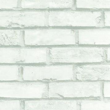 Autocolant Gekkofix Imitatie Caramida Alba  45cmx15m cod 12207