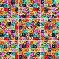 Autocolant Gekkofix bomboane colorate 45cmx15m cod 12868