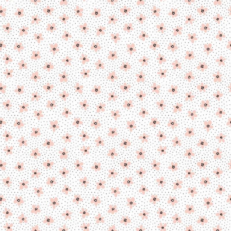 Autocolant Gekkofix flori de cires 45 cm x 2 m cod 14127