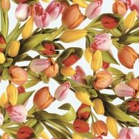 Fata de masa musama la rola Gekkofix Tulips (lalele) 140cmx20ml 19218