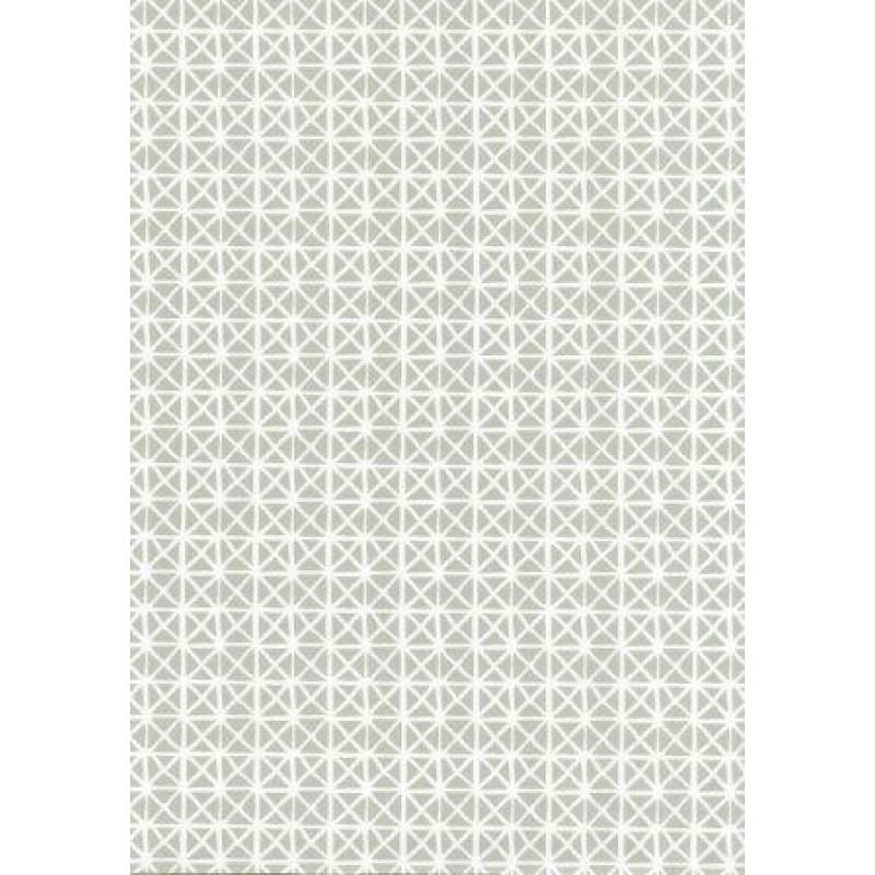 Fata de masa rola Gekkofix Andy Gri cu  romburi albe 140cmx20ml cod 70727-16