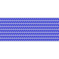 Fata de masa musama rola Gekkofix Balear romburi alb cu albastru 140cmx20ml 99565