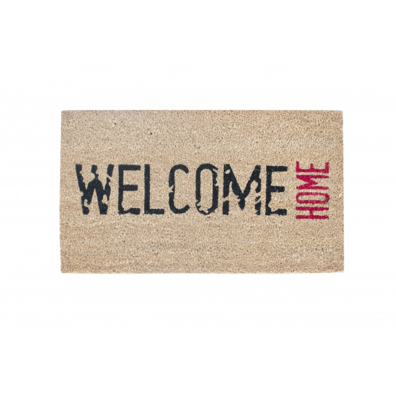 Covoras (Stergator) intrare Cocos Gemitex Welcome Home 40x70cm cod 40032