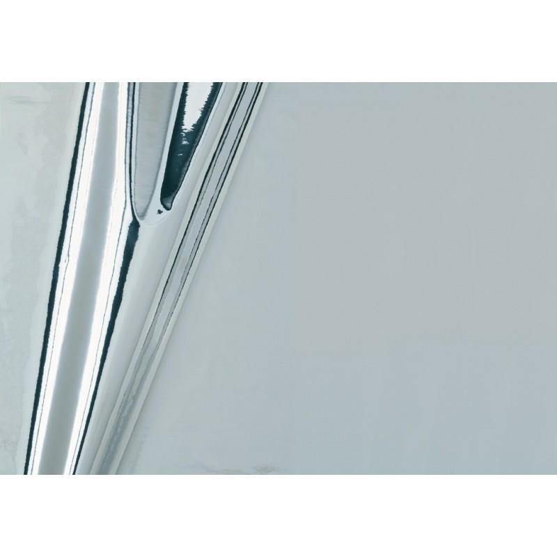 Autocolant d-c-fix aspect metalic argintiu 45cmx15m cu efect oglinda cod 201-4527
