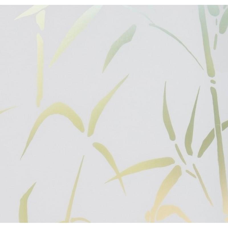 Autocolant D-C-Fix Vitraliu Transparet Static (Fara Adeziv)  Bambus 45cmx1.5m Cod 338-0023