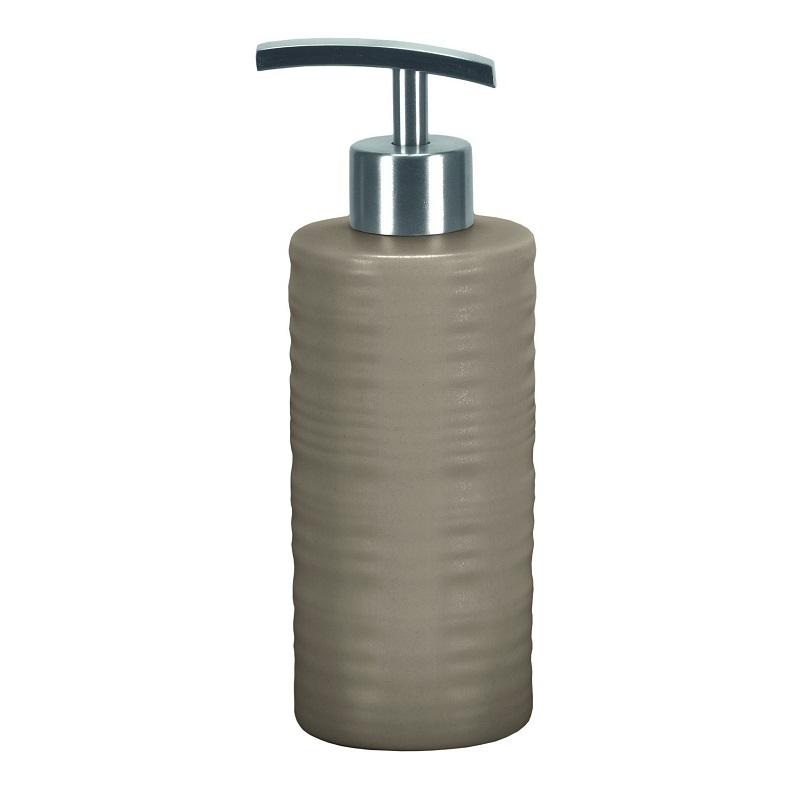 Dozator sapun lichid Kleine Wolke Sahara gri ceramica 300ml  cod 34138
