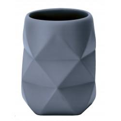 Suport pentru periuta de dinti Kleine Wolke Crackle gri albastrui cod 34266