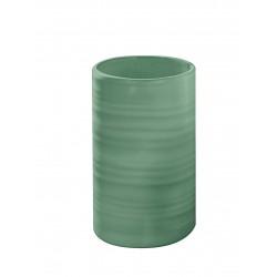 Suport pentru periuta de dinti Kleine Wolke Sahara verde menta ceramica 3x11cm cod 34272