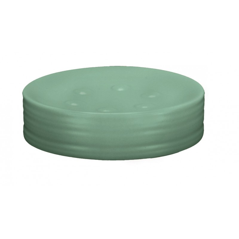 Sapuniera Kleine Wolke Sahara verde menta ceramica 7,6x9,5cm cod 34273