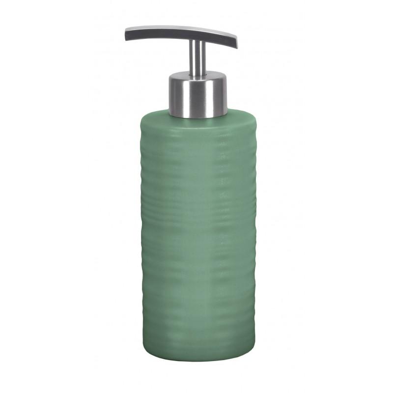 Dozator Sapun Lichid Kleine Wolke Sahara verde menta ceramica 300 ml cod 34274