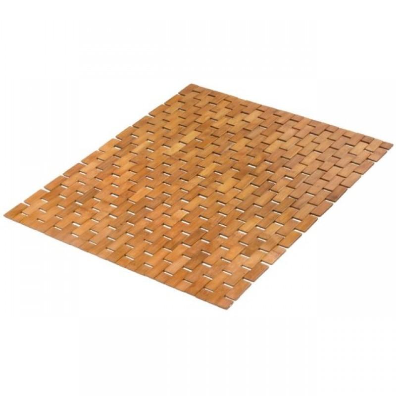 Covoras baie Kleine Wolke din lemn de bambus Palito natur dreptunghiular 50x70cm cod 34261