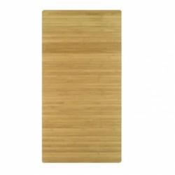 Covoras baie Kleine Wolke din lemn de bambus natur dreptunghiular 50x80cm cod 34203