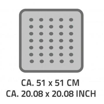 Covoras antiderapant Ridder Promo albastru 51x51cm cod 38148