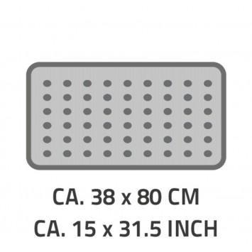 Covoras antiderapant pentru cada Ridder Playa maro 38x80cm cod 38153