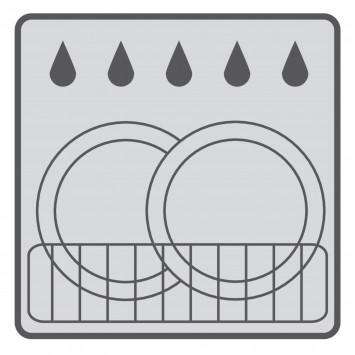Pahar baie suport periute gama Caramida alba Brick Ridder 22150101 (cod 38137)