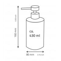 Dozator sapun lichid  gama Caramida alba Brick Ridder 22150501 (cod 38138)