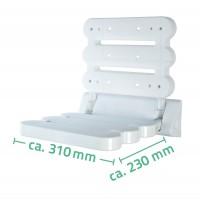 Scaun pliabil pentru dus Ridder ( sustine max 130 kg)