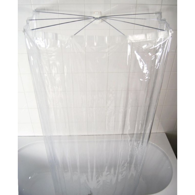 Cabina dus Ombrella cu perdea transparenta inclusa Ridder 58200 (Cod 38142)