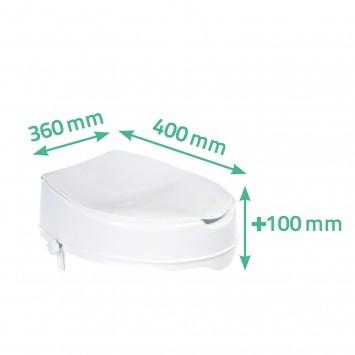 Inaltator WC Ridder cu capac A0071001 cod 38065