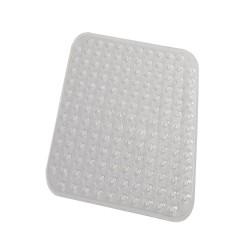 Covoras baie antiderapant Ridder din material plastic semitransparent Loup 51x54cm cod 38126